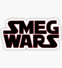 SMEG WARS Sticker