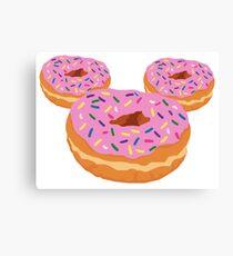 Mouse Donut Canvas Print