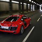 Audi R8 V10 Spyder in Tunnel by Stefan Bau
