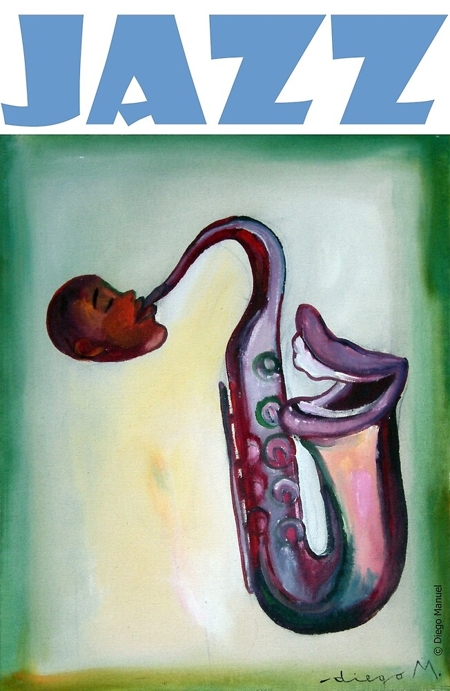Jazz laugh by Diego Manuel Rodriguez