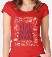 Read more books Women's Fitted Scoop T-Shirt