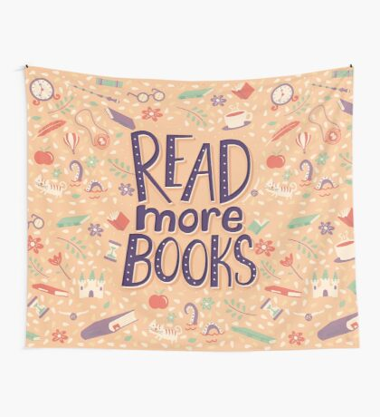 Read more books Wall Tapestry