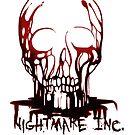 Blutiger Schädel - Nightmare Inc. von American  Artist