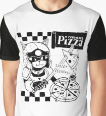 Cerviches Pizza Graphic T-Shirt