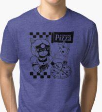 Cerviches Pizza Tri-blend T-Shirt
