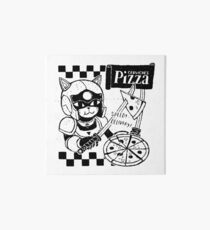 Cerviches Pizza Art Board