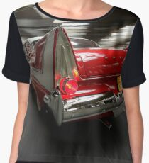 """""""Christine"""", the Plymouth Fury from the movie of John Carpenter Chiffon Top"""