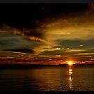 Westbrook, CT Sunset November 2010 by kailani carlson
