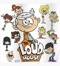 The Loud House - Family Poster