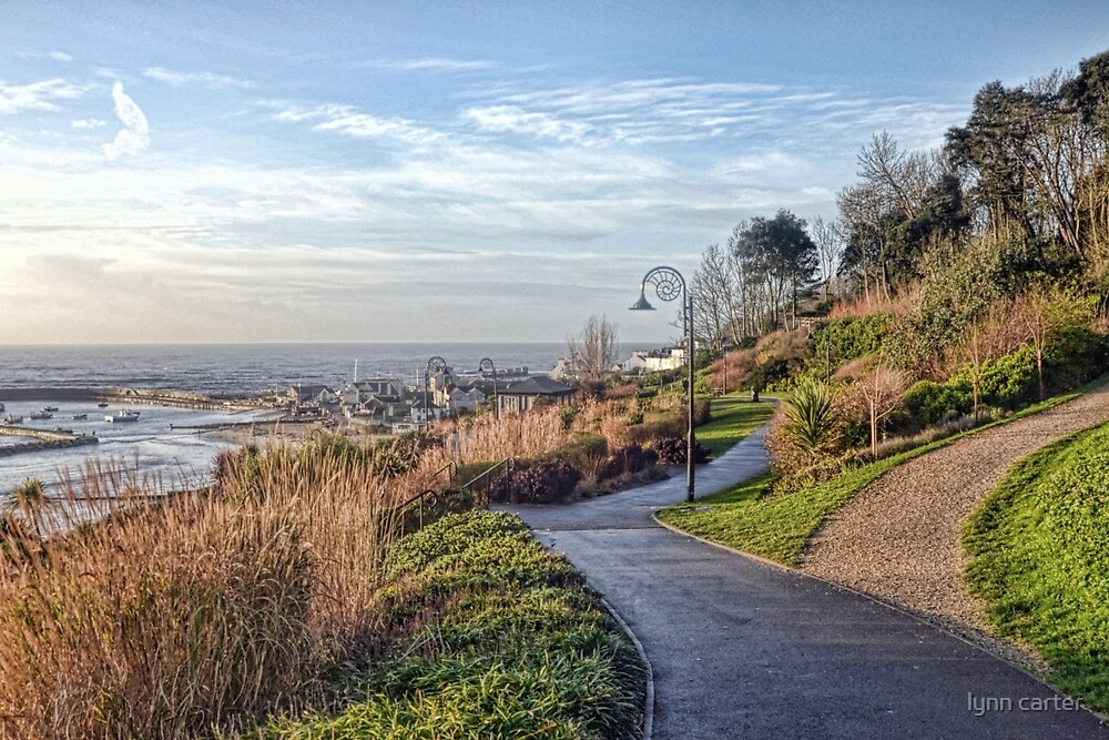 Lyme Town Gardens, Dorset.UK by lynn carter