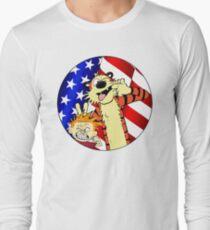 Calvin and hobbes america T-Shirt