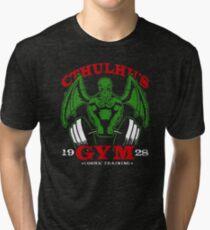 Cthulhus Gym Tri-blend T-Shirt