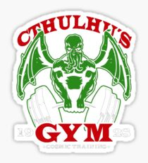 Cthulhus Gym Sticker