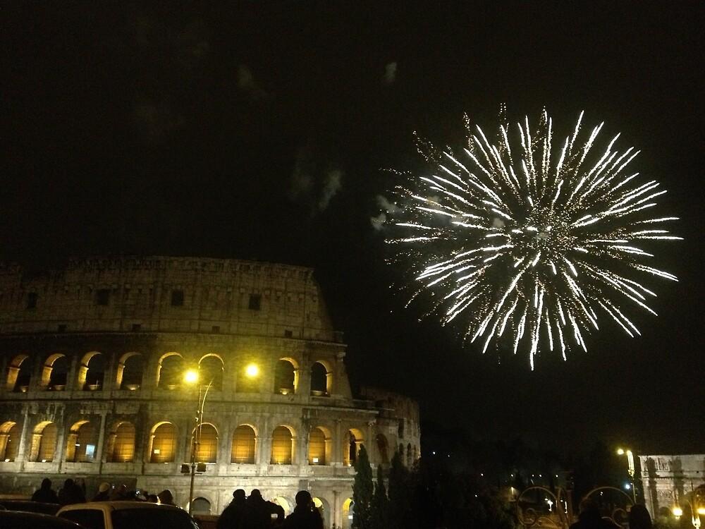 Starshower in Rome by Missgabanna