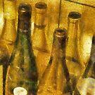 Wine Bottles by Gilberte