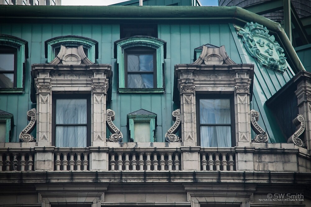 Copper Roof - Windows   New York City, New York by © Sophie W. Smith