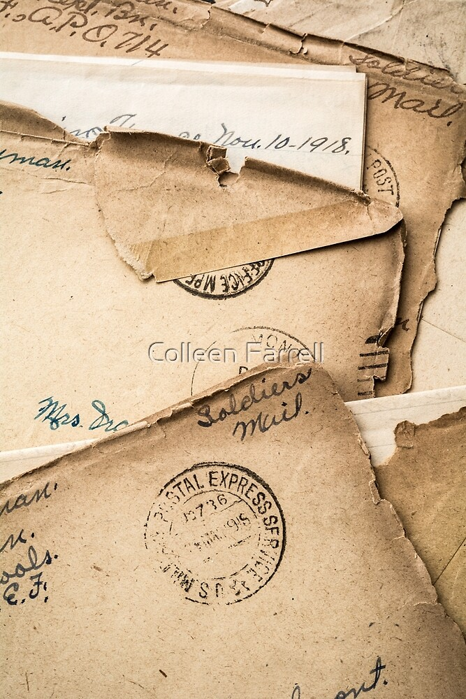 Soldier's Mail by Colleen Farrell