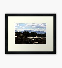 Hovenweep 30 Framed Print
