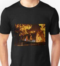 Chapel Of Ease St. Helena Island At Night T-Shirt