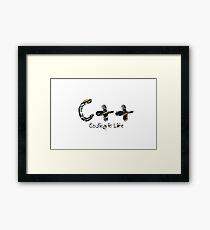 C++ Framed Print
