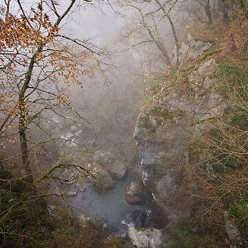 Fog on Barbennaz by patmo
