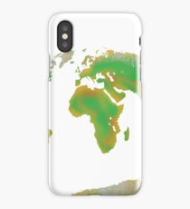 Continents of the World iPhone Case/Skin