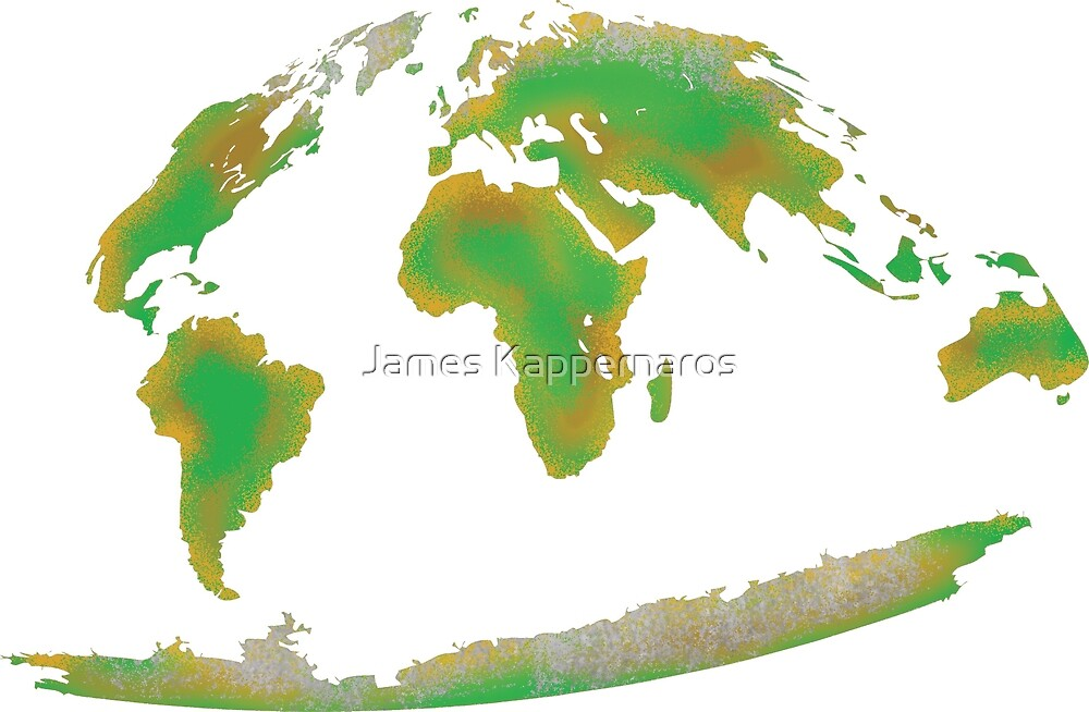 Continents of the World by James Kappernaros