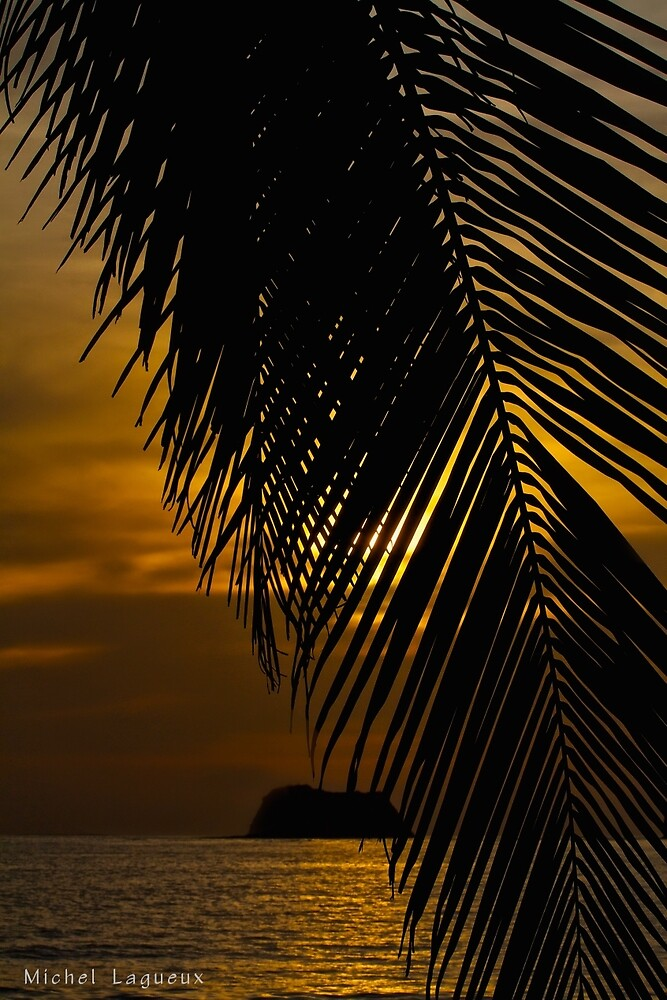Sunset Costa Rica 3 by Michel Lagueux