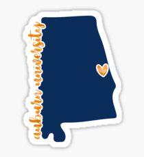 Auburn - Style 16 Sticker