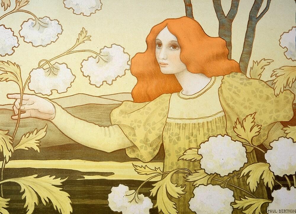 Redheaded girl by eleyne
