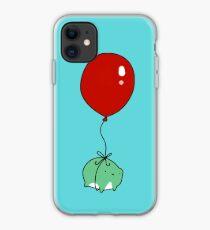 Balloon Frog iPhone Case
