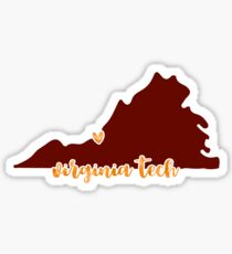 Virginia Tech - Style 16 Sticker