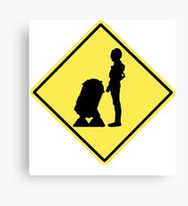 Droid Crossing Canvas Print