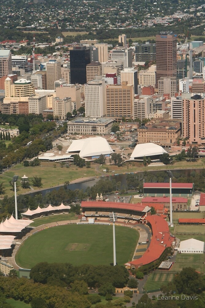 The City of Adelaide by Leanne Davis