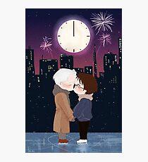 Happy New Year Victuuri Photographic Print