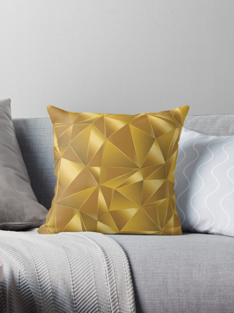 Gold,polygon,modern,trendy,art,pattern,elegant,chic by love999