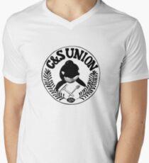 C&S Union: Union of Killer Whale Tank Clean and Scrub Men Men's V-Neck T-Shirt