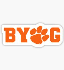 Bring Your Own Guts Clemson Tigers Sticker