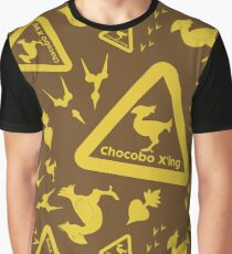 Chocobo print Graphic T-Shirt