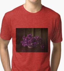 Purple bouquet Tri-blend T-Shirt