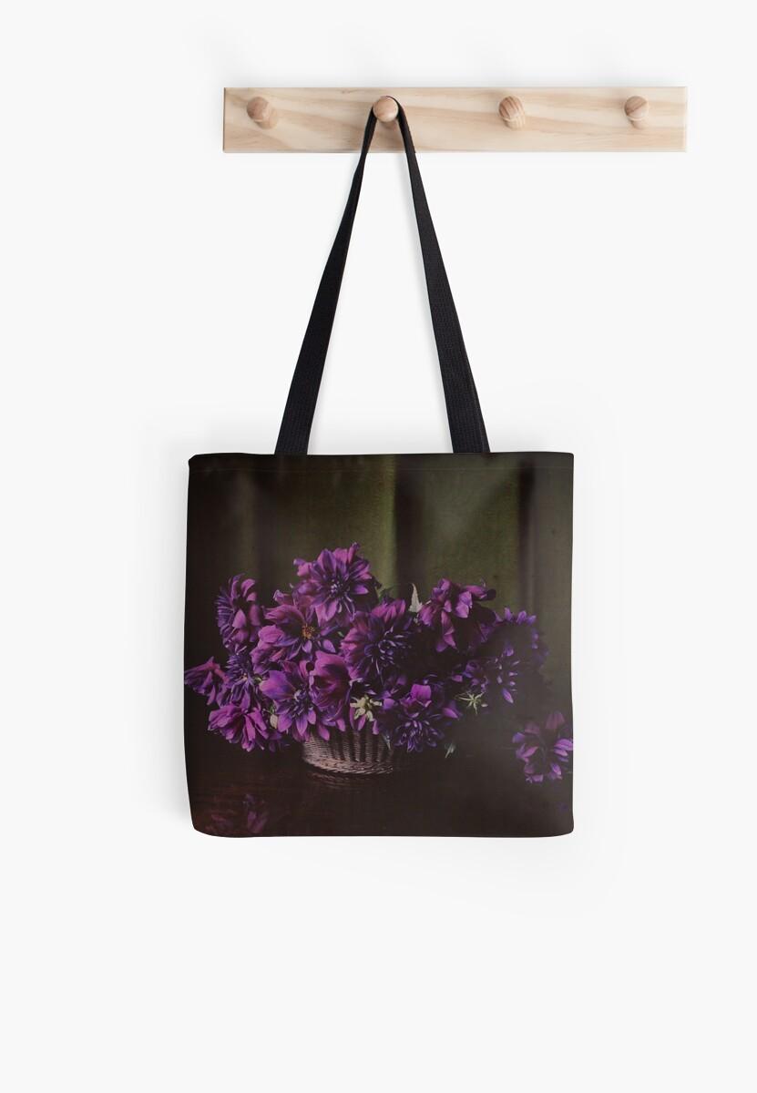 Purple bouquet by eleyne