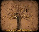 Autumn Tree by EvaBridget