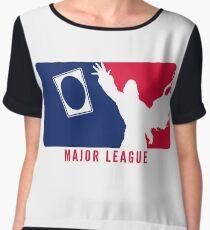 MTG Major League Women's Chiffon Top