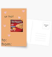 You're Hot - Hot Pockets - Funny Valentine Card Postcards