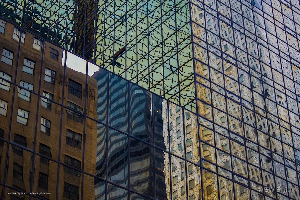 Architecture - Reflection   New York City, New York by © Sophie W. Smith