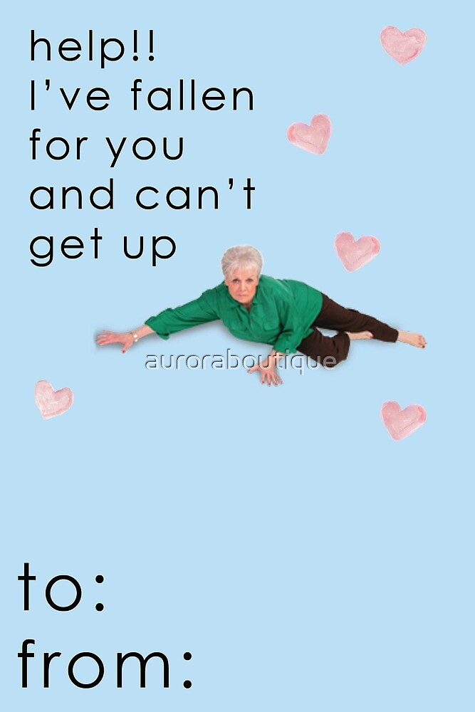 Life Alert Valentine Card by auroraboutique