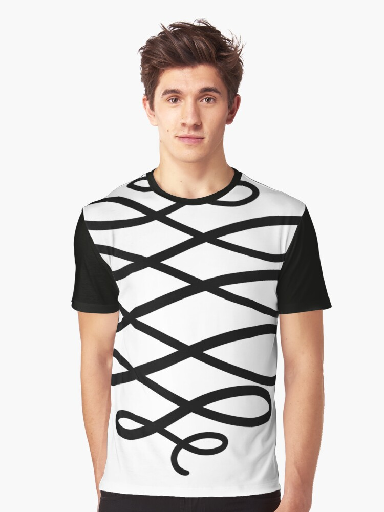 The Ribbon Graphic T-Shirt Front