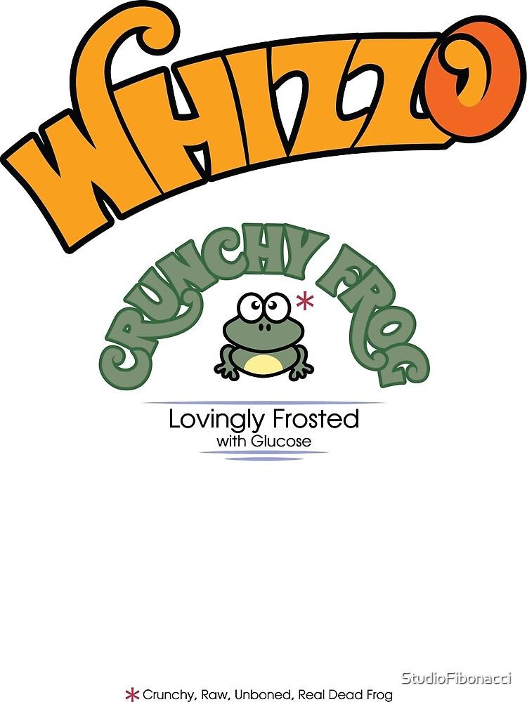Whizzo Crunchy Frog by StudioFibonacci