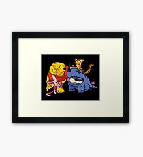 Naga the Poohlar Bear Dog & Friends Framed Print