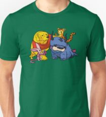 Naga the Poohlar Bear Dog & Friends T-Shirt